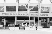 RUNTUH / STADIUM SULTAN MIZAN ZAINAL ABIDIN